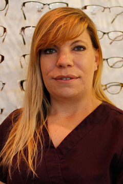 Tina Harbit optician Sweetgrass